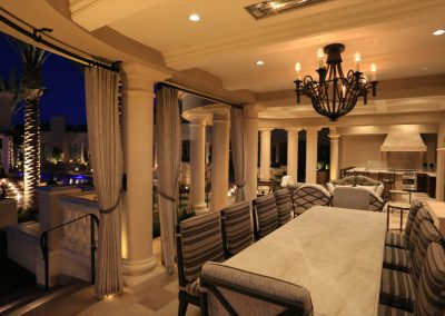 Electricians in Scottsdale, AZ - Nighttime Residential Guest House Lighting